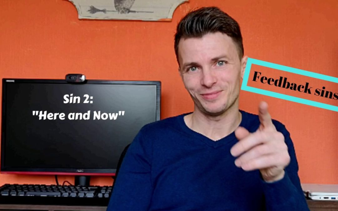 Feedback sins: Here and Now.