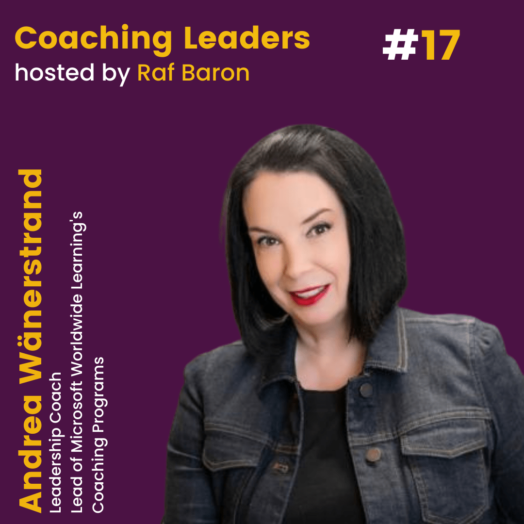 Episode 17: Andrea Wänerstrand. How to activate the Growth Mindset within your team