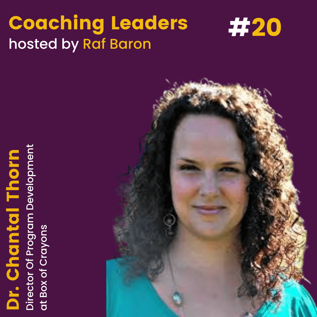 Episode 20: Dr. Chantal Thorn. How to lead your team with curiosity.