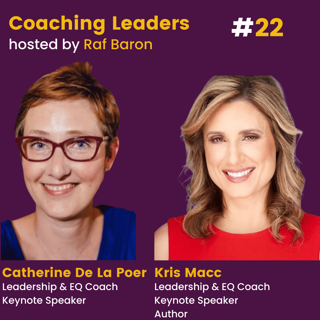 Episode 22: Kris Macc and Catherine De La Poer: How to build a team with EQ at its heart